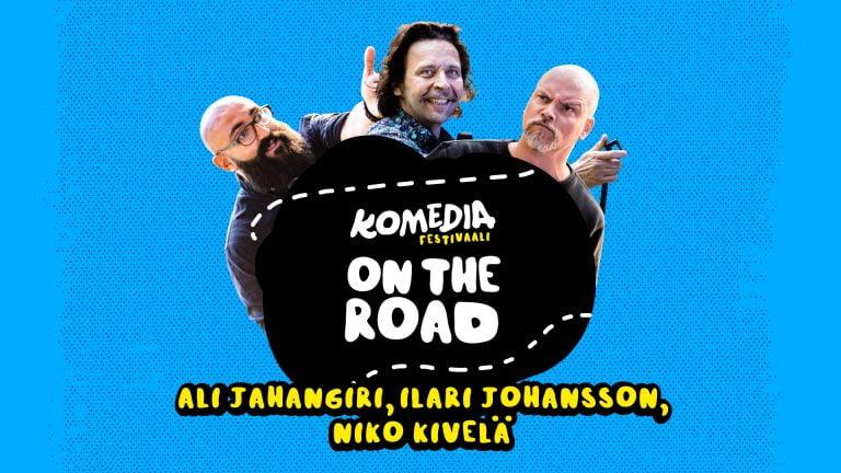 Komediafestivaali On The Road  2020 -kesäkiertue